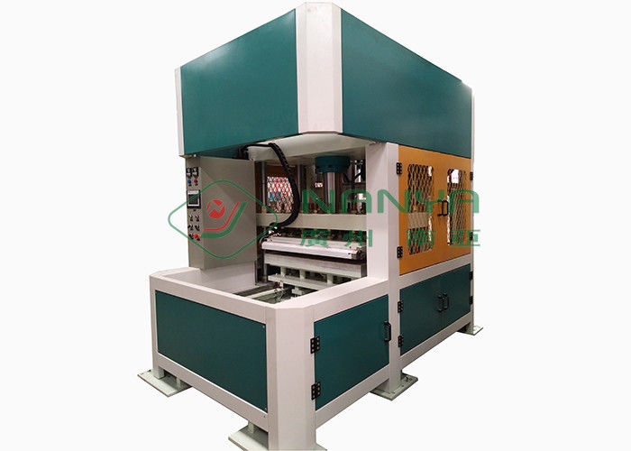 Automatic Hot Press Pulp Molding Equipment For Egg Carton 12 Month Warranty